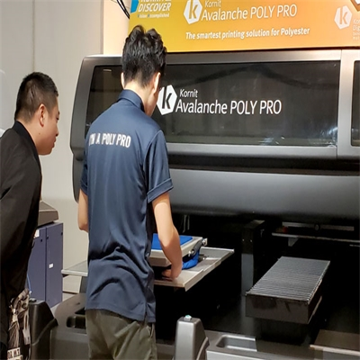 New Digital Printing Solution for Polyester Apparel