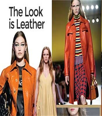 The Look is Leather!